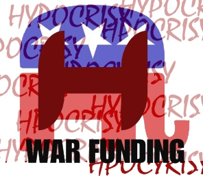 Scarlet H - Repubs - War funding